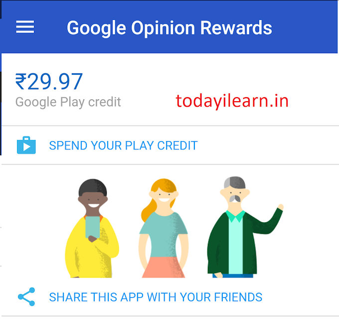 Answer simple surveys and earn Google Play Store Credit (with proof)