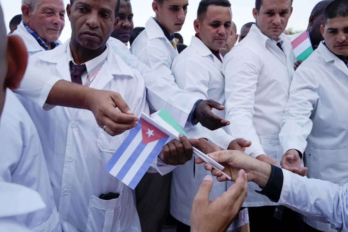 Cuban Sends Doctors To Battle Coronavirus In Italy