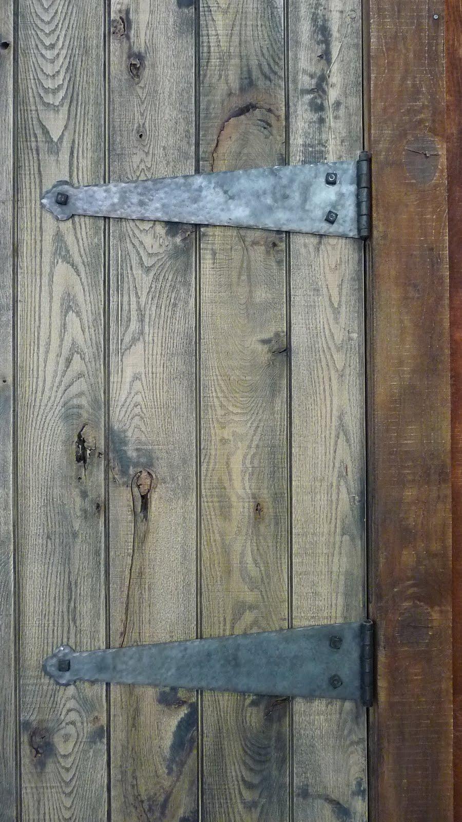 Living Iron Barn Door Hinges