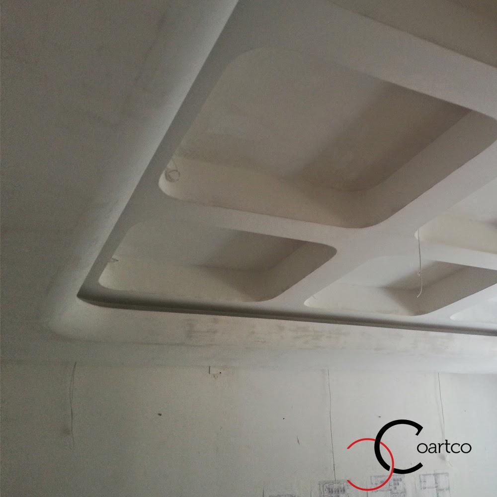 profile decorative, firma constructii montare tavan rigips si scafa luminoasa semirotund