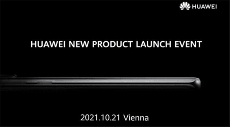 Huawei schedules October event, possibly for the global launch of P50 series