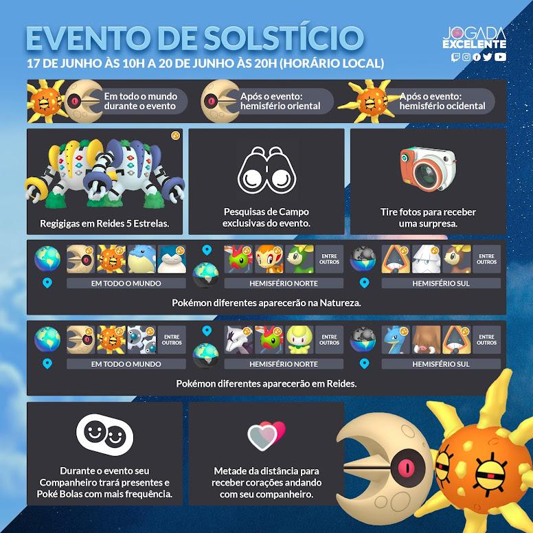 Evento de Solstício 2021 Pokémon GO