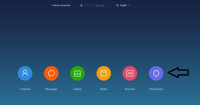Find Device Xiaomi Lockscreen