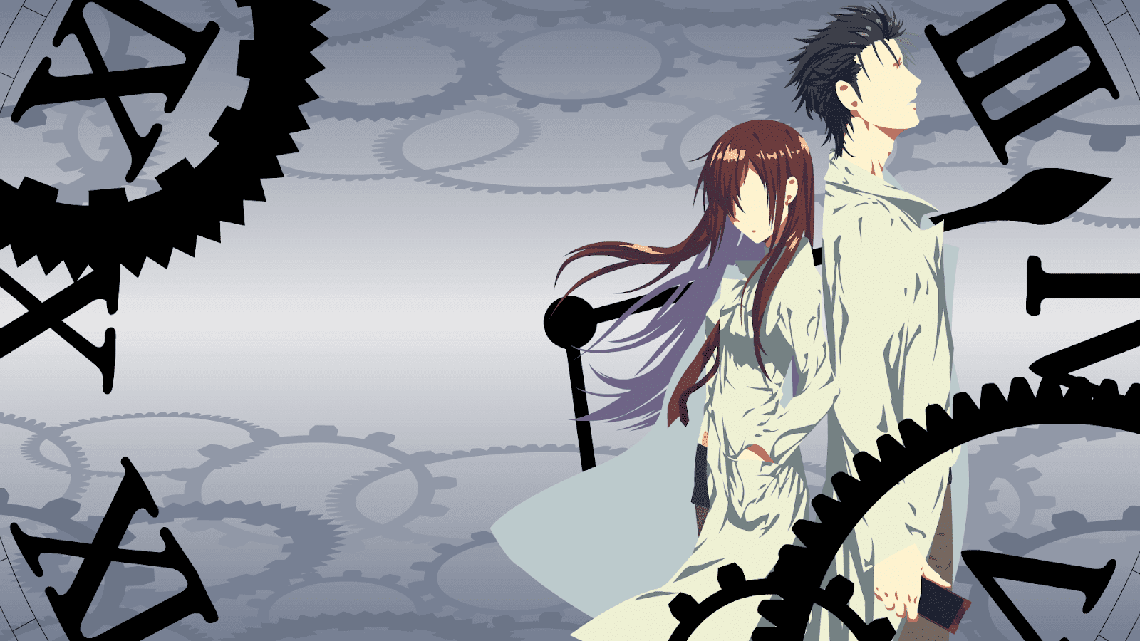 Steins Gate Okabe Kurisu 1080p Wallpaper Engine Anime