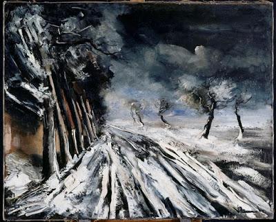 Maurice de Vlaminck - Snowstorm
