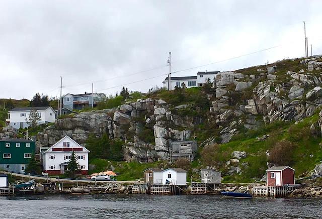 tiny trailer camping, Trans Labrador Highway, Newfoundland