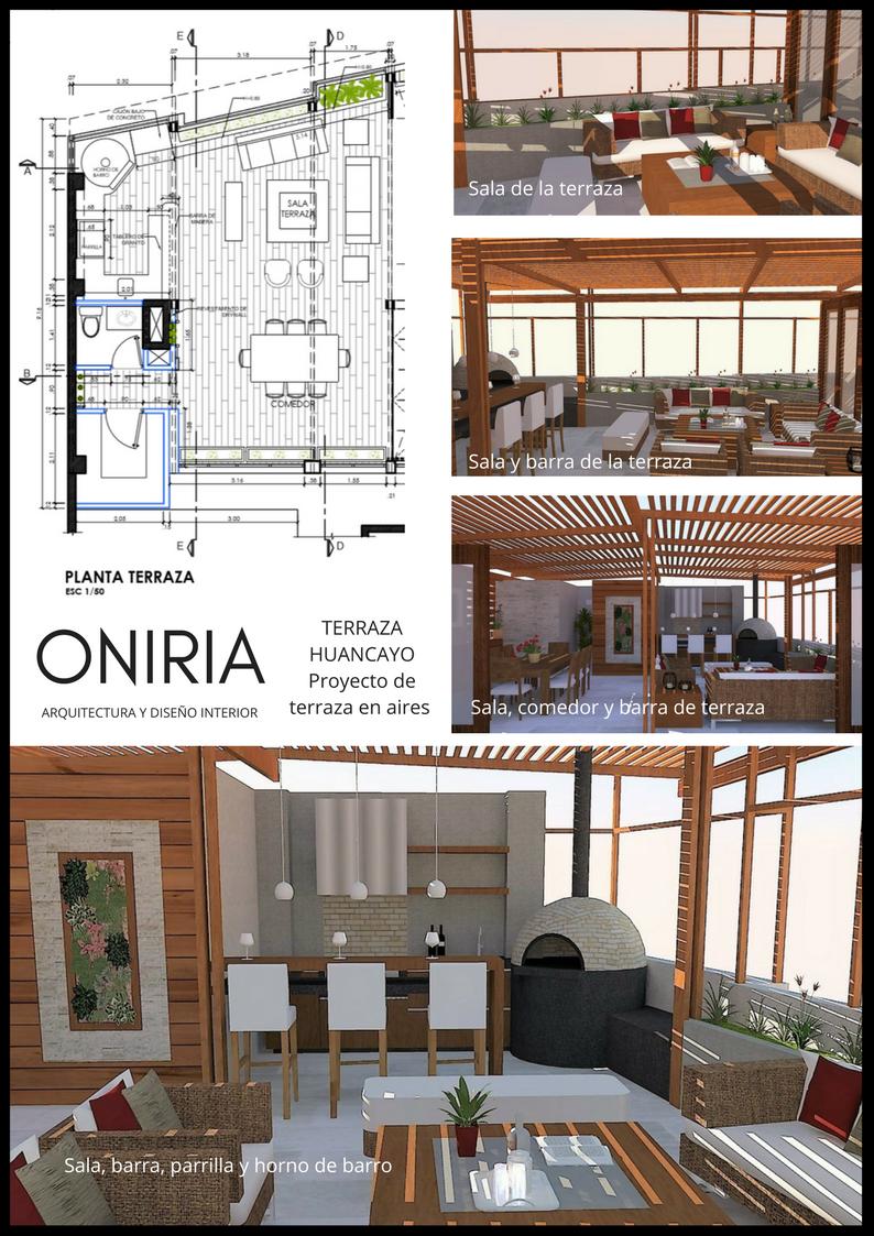 Oniria dise o de terraza con moderna parrilla en huancayo - Diseno de terraza ...