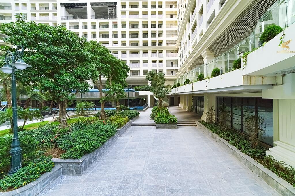 Không gian xanh dự án Sunshine Garden Vĩnh Tuy
