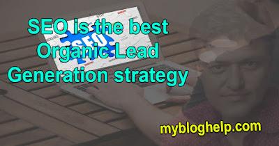 SEO strategy for organic lead generation