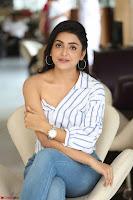 Avantika Mishra in One Shoulder Crop Top and Denim Jeggings ~  Exclusive 067.JPG