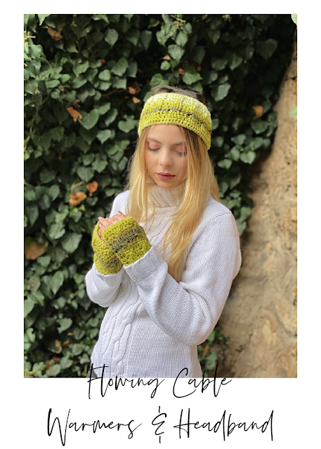 Flowing Cable Hand & Ear Warmers – pattern release