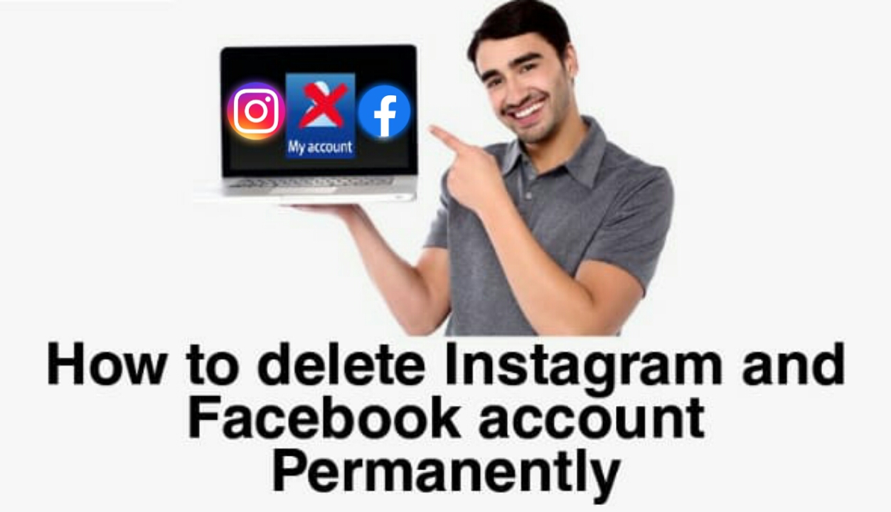 How to delete instagram and facebook account permanently | here's step by step guide.
