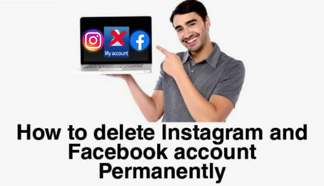 How to delete instagram and facebook account permanently   here's step by step guide.