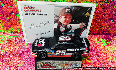 Diggity Dave Hermie Sadler Virginia is for Lovers Blog Racing Champions Chevrolet 1993 1994 1/64 die-cast diecast blog