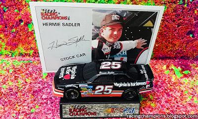 Diggity Dave Hermie Sadler Virginia is for Lovers Blog Racing Champions Chevrolet 1993 1994 1/64 die-cast diecast blog