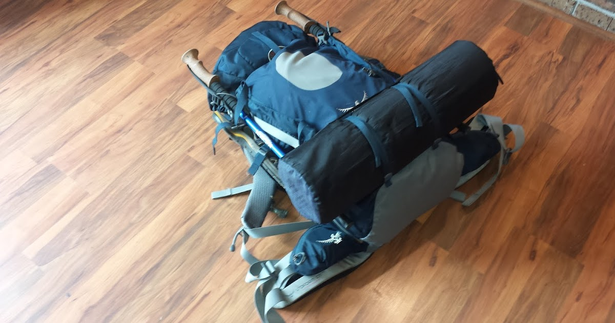 Bugged Out Blog: Gear Review: Osprey Aether 70 gen 4 Backpack