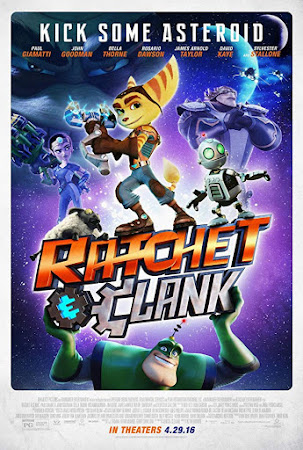 Poster Of Ratchet and Clank 2016 In Hindi Bluray 720P Free Download