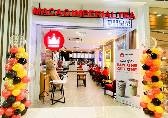 Situated at the ground floor of the SM City Marilao, Macao Imperial Tea is a global tea brand that serves diverse selection of drinks that not only cater to milk tea lovers but also to coffee lovers.