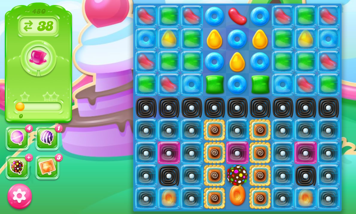 Candy Crush Jelly Saga 480