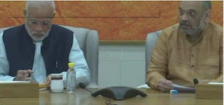 Narendra Modi, Amit Shah at BJP meeting to decide MP assembly election candidates