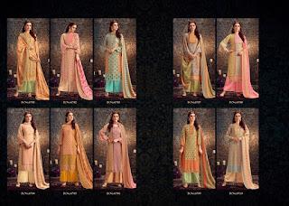Kesar Jevika Pahmina  Winter Woolen Salwar Kameez Wholesaler
