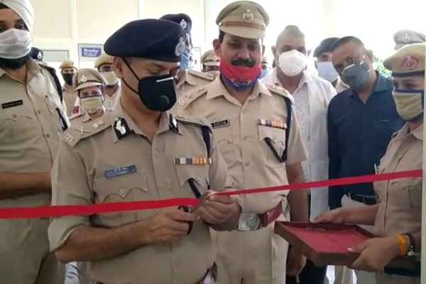 dispensary-started-in-police-commissioner-office-in-faridabad-news