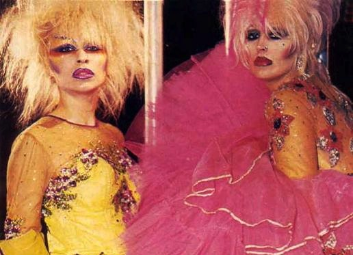 Little Violet Ribbon 80s Fashion Designers