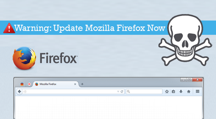 Warning! Update Mozilla Firefox to Patch Critical File Stealing