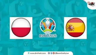مشاهدة مباراة اسبانيا وبولندا بث مباشر
