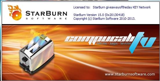 StarBurn Versión 15.0 Final