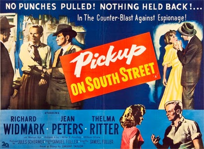 Poster - Pickup on South Street (1953)
