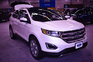 2017 Ford Edge at the Portland Auto Show