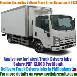 Omnibus Bio Medical System Inc Delivery Truck Driver Recruitment 2021-22