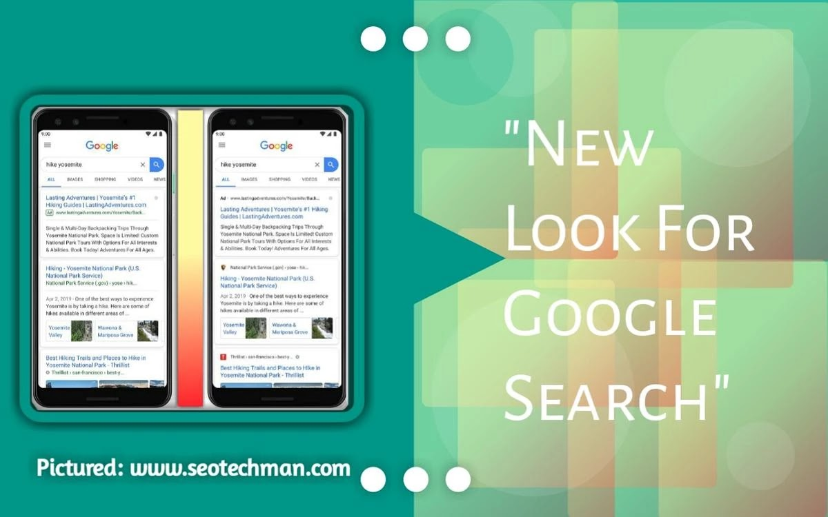 Tampilan Baru Halaman Web Hasil Pencarian Google