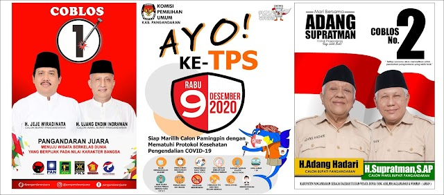 KPU Pangandaran Sosialisasikan Pilkada Pangandaran 2020