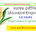 117 Posts | Assistant Engineer (Agricultural Engineering) | TNPSC -2017