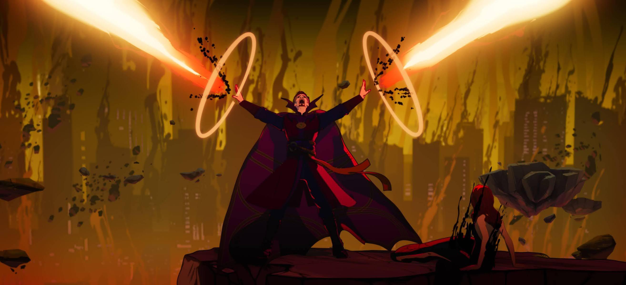 Doctor Strange desata su locura en What If...?