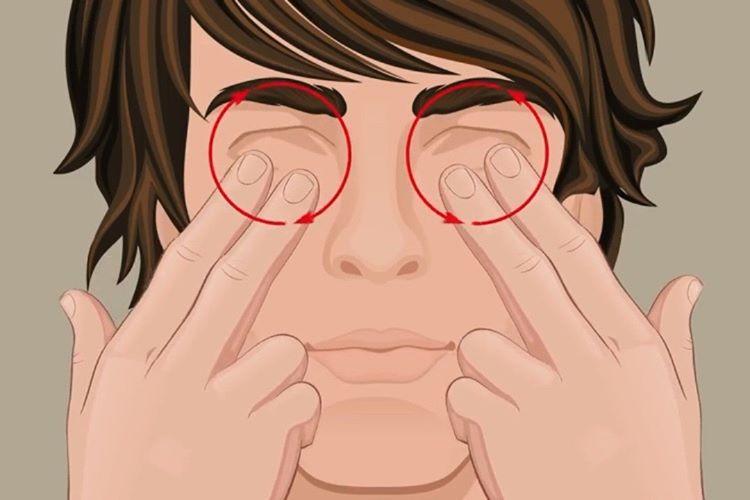 Göz Masajı
