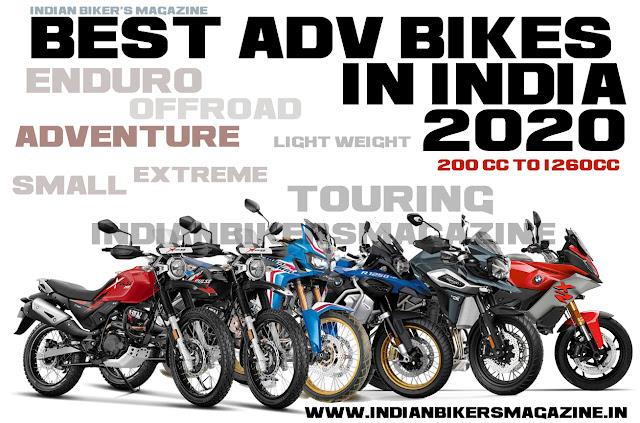 Best 15  Adv Bikes in India 2020