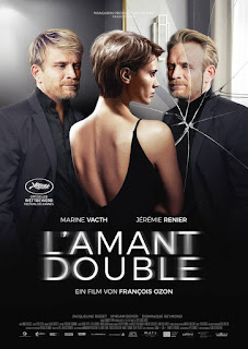 L'AMANT DOUBLE, François Ozon, thriller, affiche, poster, Jérémie Renier, Marine Vacth