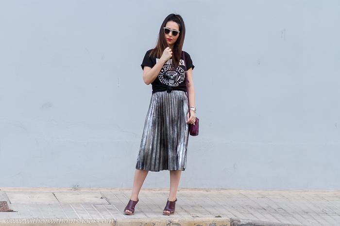 BLogger influencer de moda española con ideas de looks con estilo