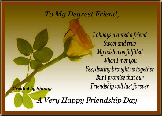 Happy Friendship Day 2017 Greetings Cards, Ecards, Free Cards ~ Happy Friends...