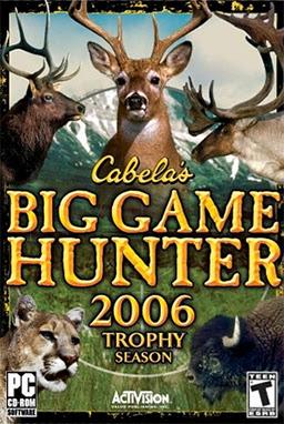 Cabela's Big Game Hunter 2006 - Trophy Season Full Game Download
