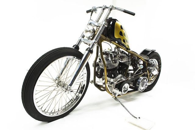 Harley Davidson By Paul Cox Industries Hell Kustom