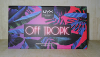 Review NYX Off Tropic Oogschaduw palette