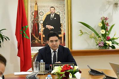 M. Bourita s'entretient avec son homologue espagnole