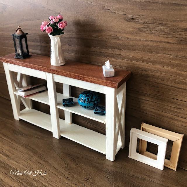 How to Make Miniature Dresser -Tutorial