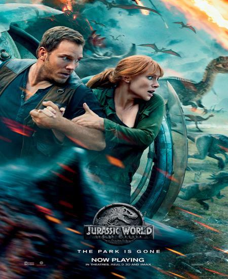 Jurassic World Fallen Kingdom 2018 BluRay 480p Dual Audio In [Hindi English] Download