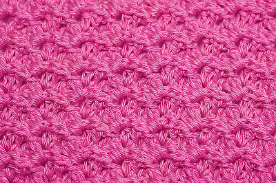 5 - Crochet Imagen Puntada a relieve sencilla por Majovel Crochet