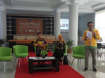 Nairobi Usung FEB Unila Menjadi Fakultas Entrepreneurial Terbaik di Indonesia